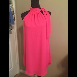 STUNNING HOT PINK DRESS! You'll light up the room!